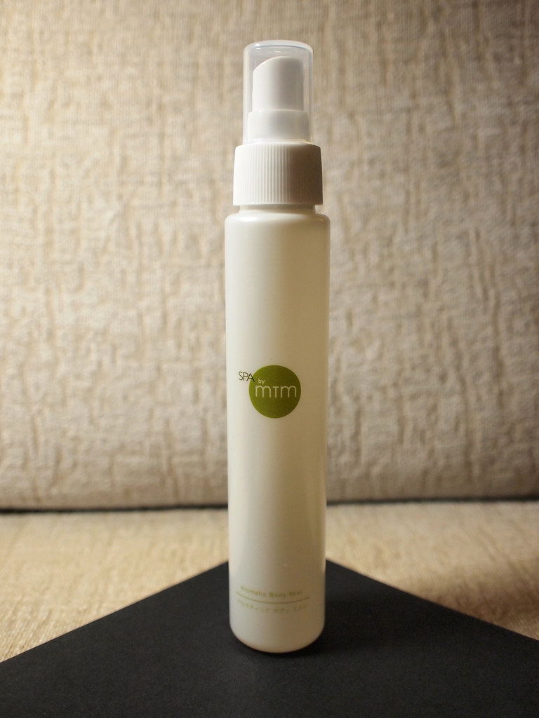 spa by mtm aromatic body mist