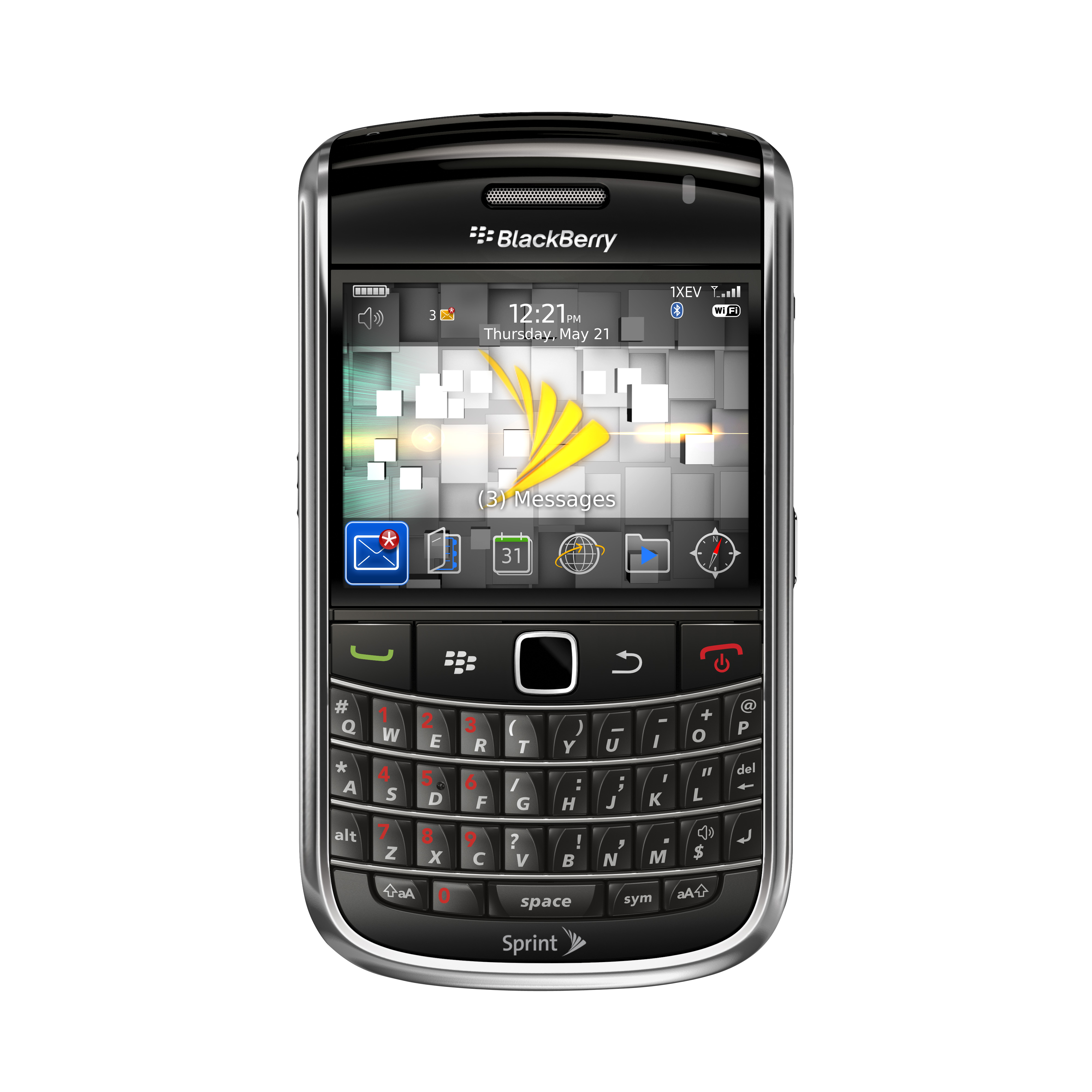 BlackBerry Bold 9650 listo para Sprint
