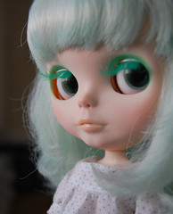 Jelly the green glamour girl ;)