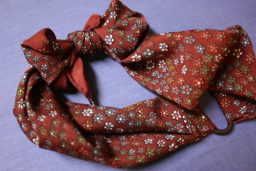 scarf headband diy