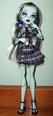 Frankie pondering life (Veni Vidi Dolli) Tags: dolls mattel frankiestein monsterhigh