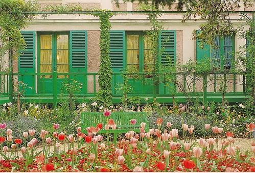 Postcard Monet's Gardens