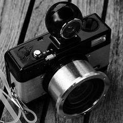 Al's New Camera (Roo Waters) Tags: lomography fisheye n2 dayofthedonut