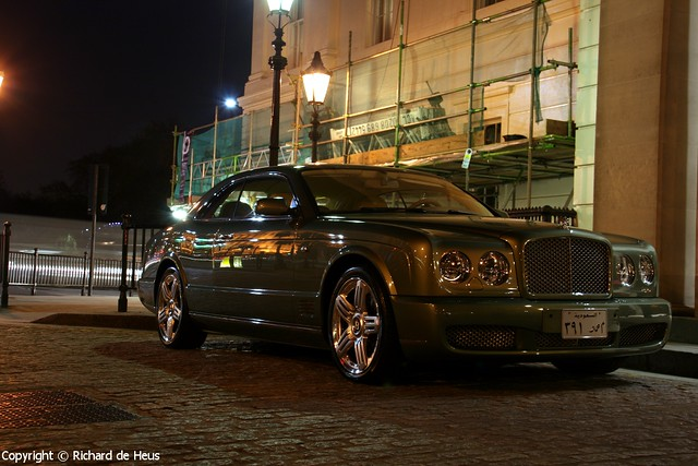 green london night dark 2008 bentley brooklands arabs lanesborough