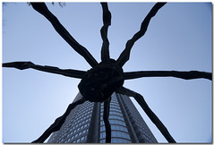Tokyo: Roppongi Hills: Louise Bourgeois: maman (waex99) Tags: sculpture art japan backlight tokyo spider nikon contemporary hills tokina louise roppongi avril 2010 d80 1224f40 bougeois