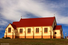 St Andrews Catholic Church - Nimmitabel, NSW - Built 1863 (Black Diamond Images) Tags: church australia nsw catholicchurch picnik monaro nimmitabel southerntablelands standrewscatholicchurch blackdiamondimages australianchurches nimmitabelchurch southernmonaro