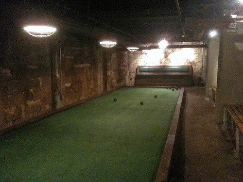 Ormsby's bocce court