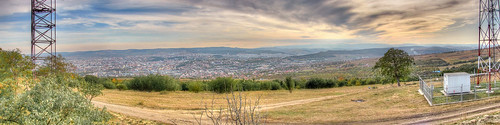 Cluj, up from the hill