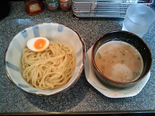 吟醸つけ麺 醤油鶏白湯(限定)