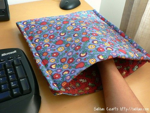 Mouse Hand Warmer Blanket 2