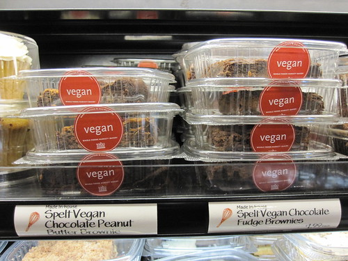 Whole Foods Vegan Brownies