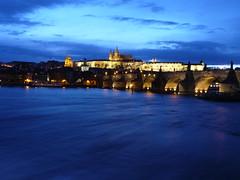You could let it down (_EdG_) Tags: sky night river fiume praha praga czechrepublic moldava repubblicaceca 5photosaday vltlava