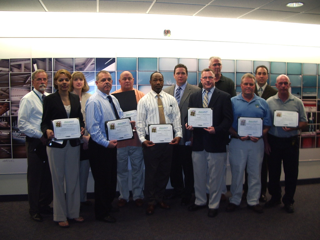 MassDOT Employees of the Month, May 6, 2010