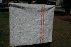 Meadowsweet New Wave Quilt back (ibmomof2) Tags: meadowsweet ohfransson whitesashing piecedback newwavequilt