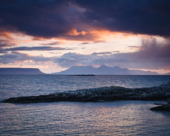 """Approaching Sunset over Eigg and Rum • <a style=""""font-size:0.8em;"""" href=""""http://www.flickr.com/photos/26440756@N06/4587182011/"""" target=""""_blank"""">View on Flickr</a>"""