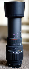 New Lens - Fully Extended & Hood