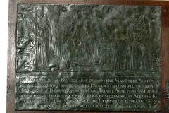 Alban Butler Brass Aston Le Walls, Northamptonshire