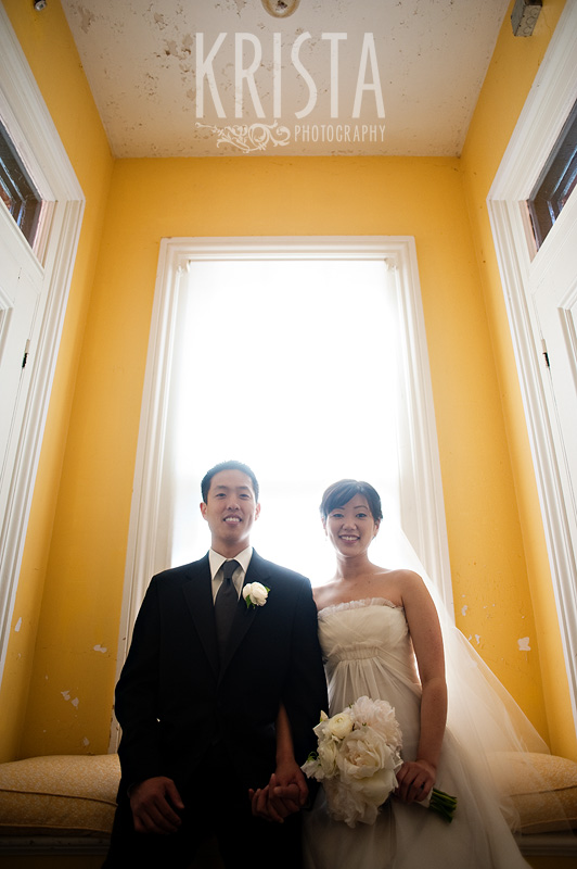 Spring Wedding at the Commander's Mansion