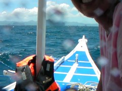 Roughing the South China Sea (This World Rocks) Tags: trip vacation video southeastasia philippines sanyo elnido palawan waterproofcamera sanyoxacti sanyoxactivpce2 waterproofcamcorder