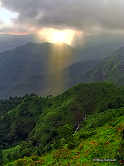 Lights from heaven (shaji sarasan) Tags: light sun kerala hills rays thekkady worldtrekker