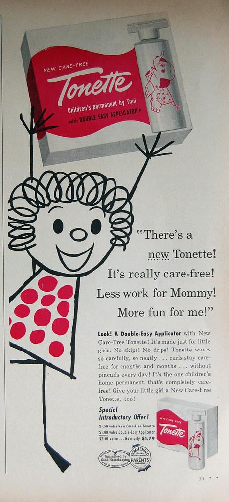 1957 Tonette perm
