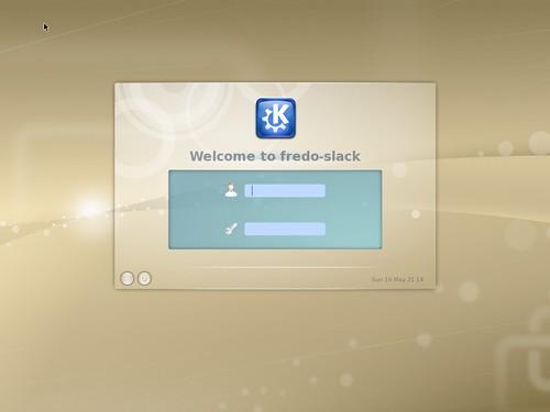 Kdm de la Slackware 13.1rc1
