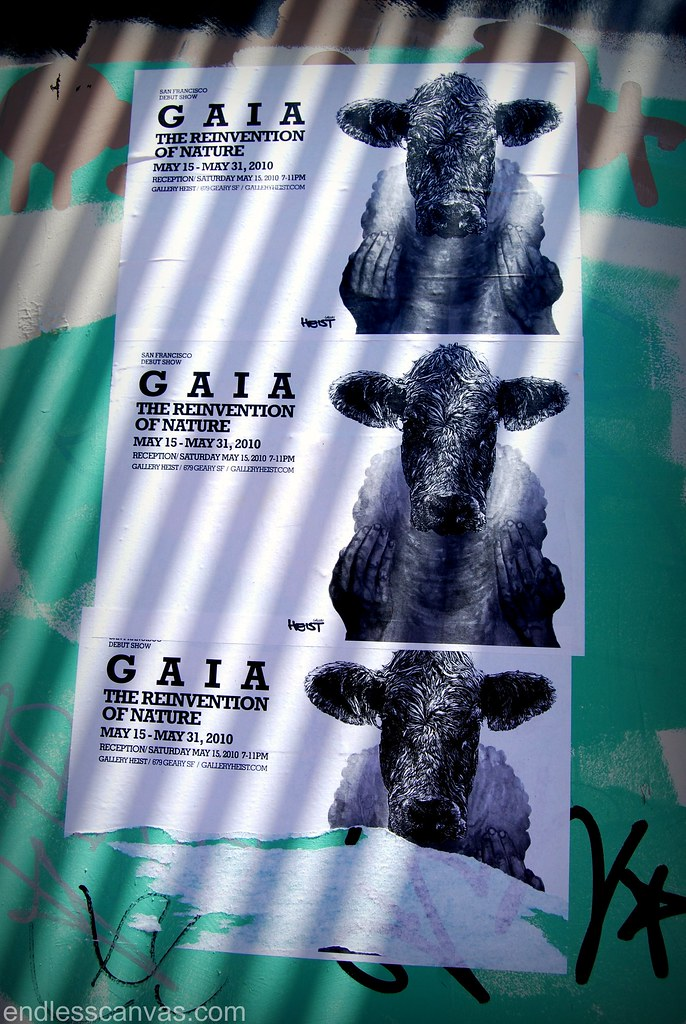 GAIA Art Show in San Francisco, CA.