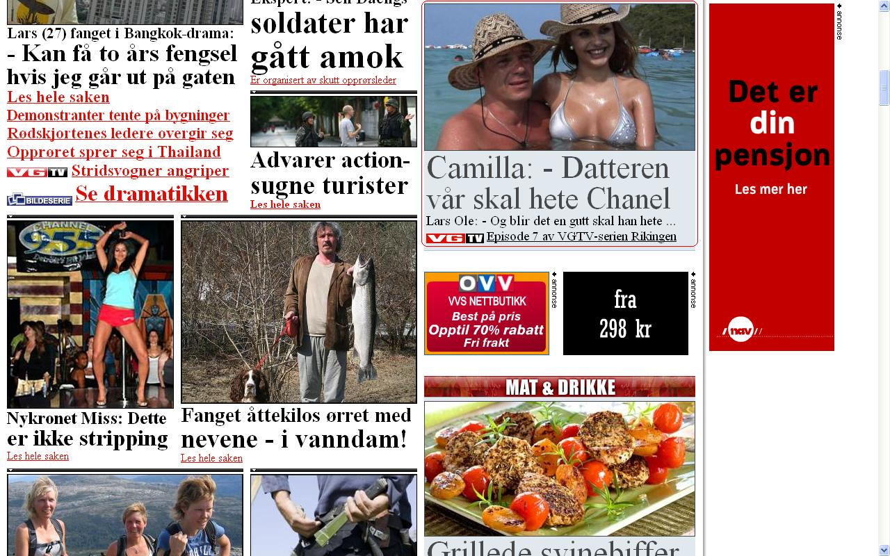 vg driver med utdriting av norske folk
