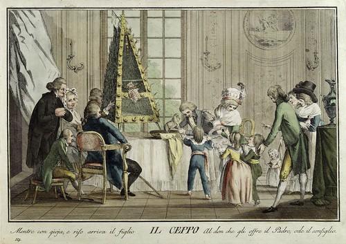 011-Il Ceppo- Giuochi Trattenimenti e Feste Annue Che si Costumano in Toscana 1790- Giuseppe Piattoli