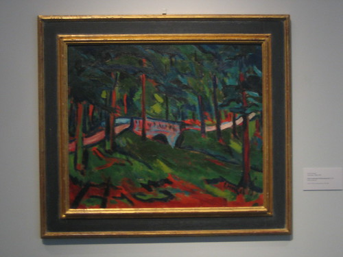 Parklandschaft, Erich Heckel _ 1907