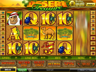 Desert Treasure slot game online review