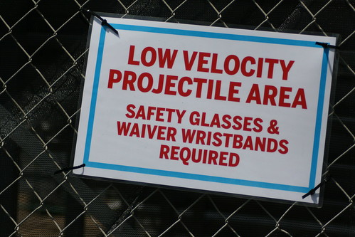 Low Velocity Projectile Area