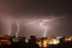 Lightning Strike (Kenny Chabba) Tags: night clouds cityscape strike lightning amritsar