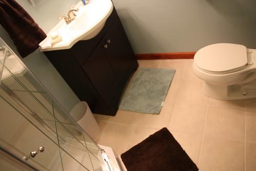 Bathroom after changes