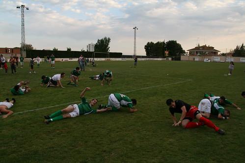 Celebración del ascenso a Tercera División