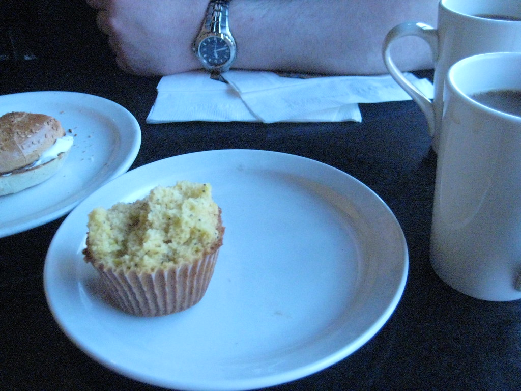 Breakfast, Perks Cafe, Halifax, Nova Scotia - May 2010