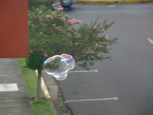 Burbujas gigantes- experimentación