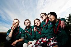 Scout for life (Fotograf Johny Kristensen) Tags: light people canon uniform foto natur scout danish lys kfum spejder demnark protrat patruljen