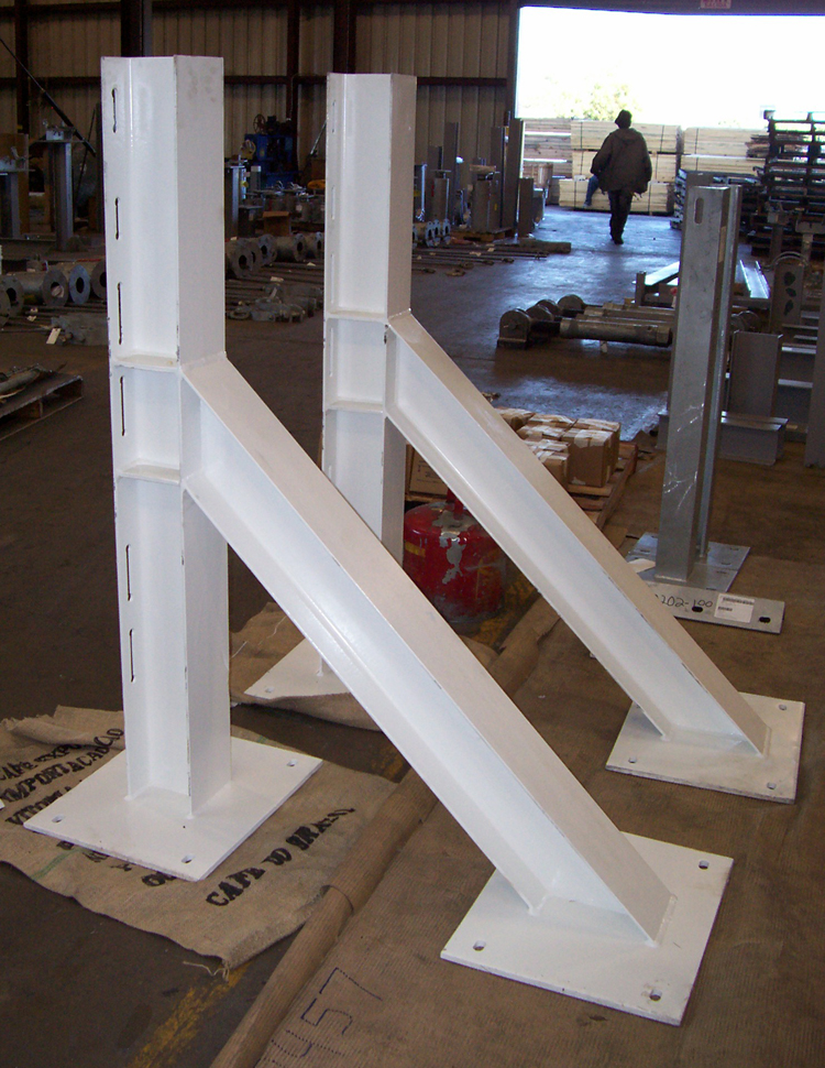 Steel Structural Supports for an Aluminum Smelter Plant in Iceland
