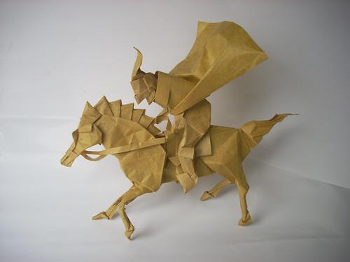 Horseman By Kamiya Satoshi Folded Richard Ojeda Soto