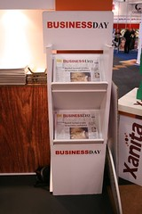 Business Day Newspaper Stand