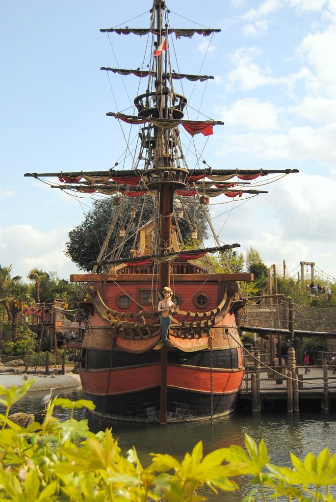 Barco del Capitán Garfio