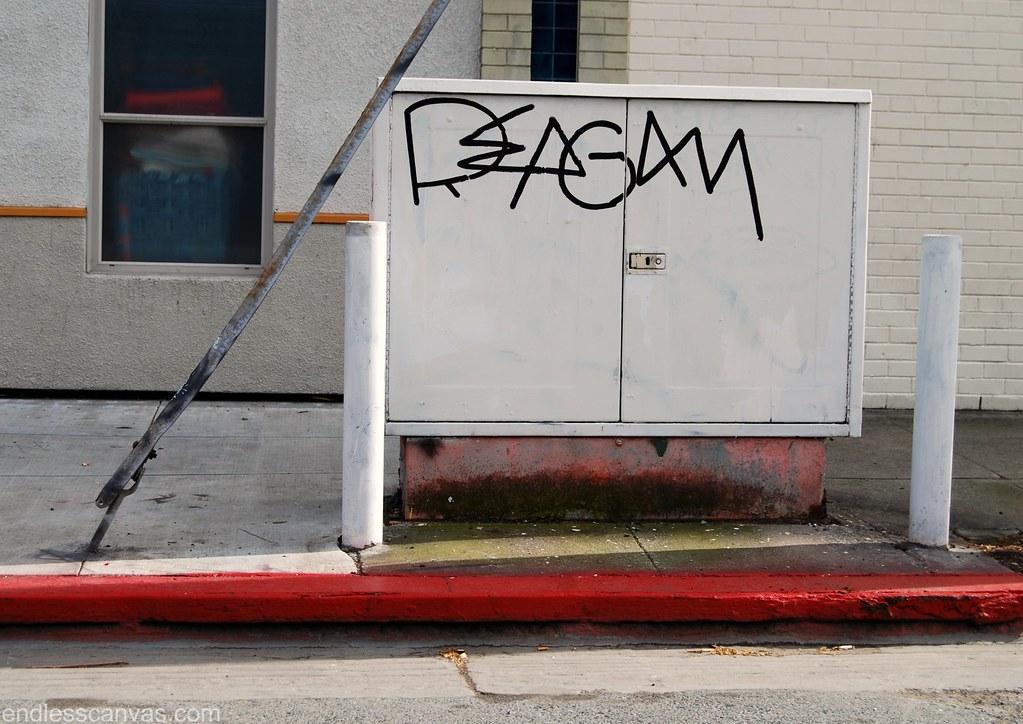 Reagan Graffiti.
