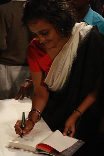 Arundhati Roy Spotting