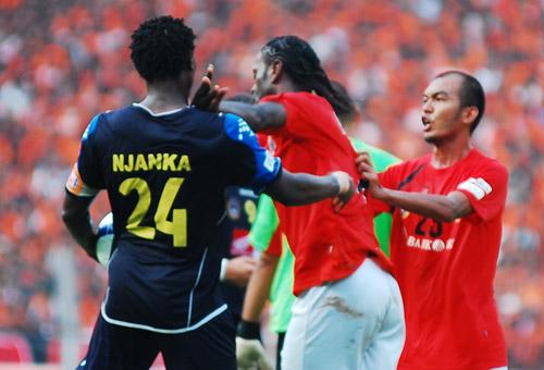 Persija Jakarta vs Arema Indonesia