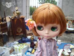 Biba girl at the flea market