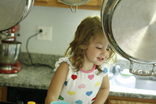 Cooking with Kids: Chocolate Chip Cookies with a Hint of Oats