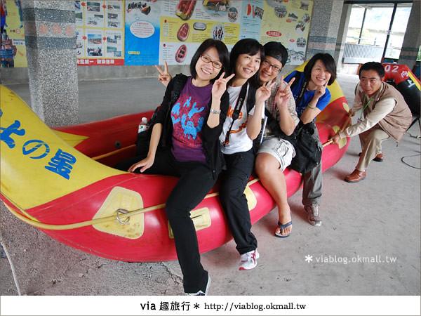 【花蓮旅遊】暑假玩花蓮最消暑的玩法~秀姑巒溪泛舟啦!5