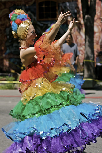 Rainbow Dancer I