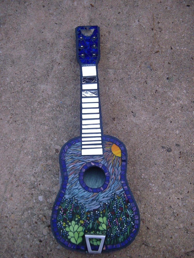 Bluebonnet Blues Guitar front